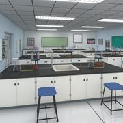 化学実験室 3d model