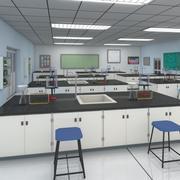 Лаборатория химии 3d model
