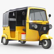 Авто Рикша Бахадж 3d model