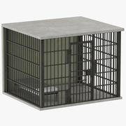 Cela de prisão 01 3d model