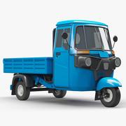 Trójkołowy pojazd ciężarowy 3d model
