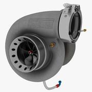 涡轮增压6877 3d model