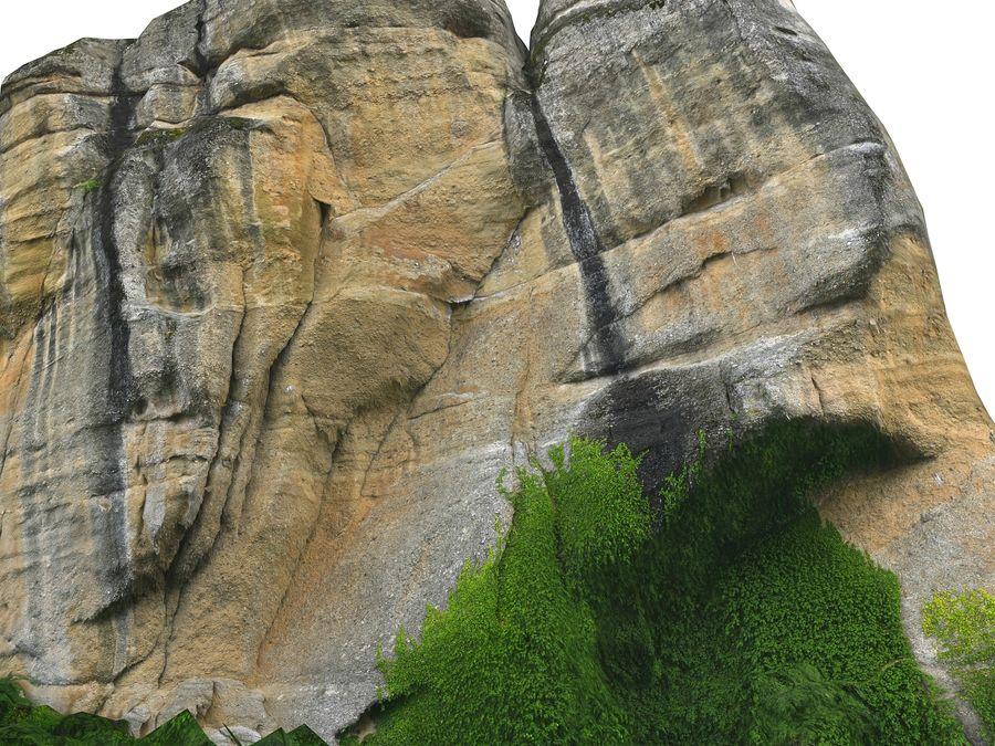 Montañas Meteora 16K royalty-free modelo 3d - Preview no. 8