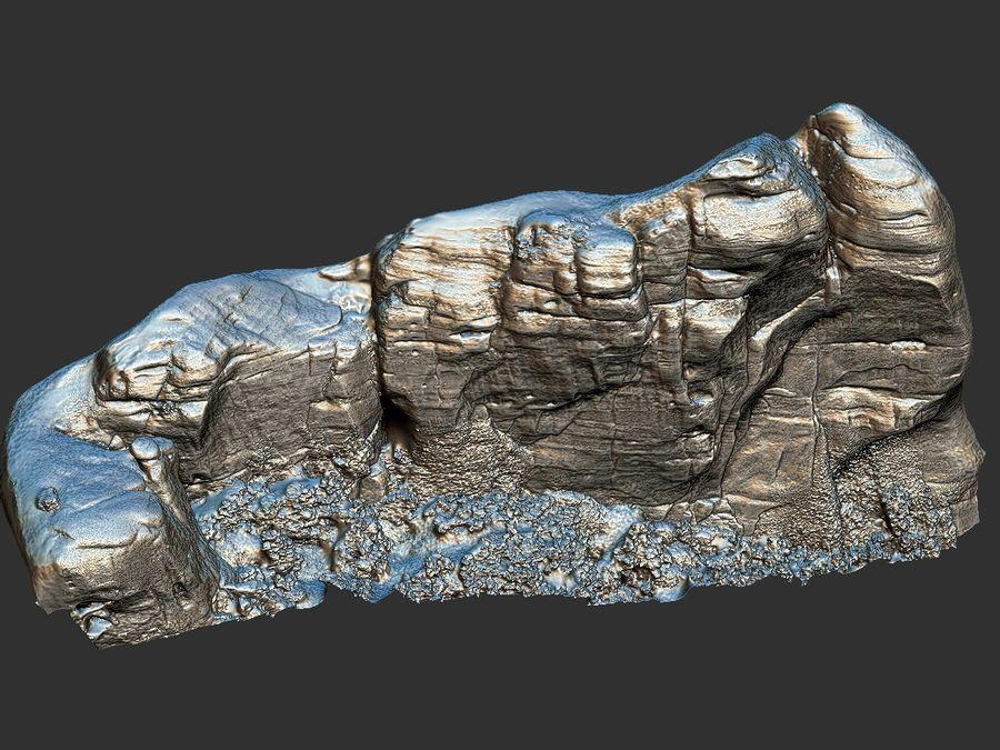 Montañas Meteora 16K royalty-free modelo 3d - Preview no. 18