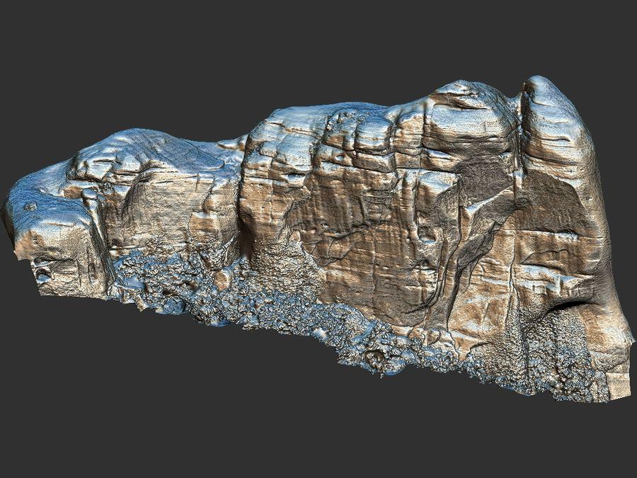 Montañas Meteora 16K royalty-free modelo 3d - Preview no. 14