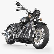 Motorfiets concept 3d model