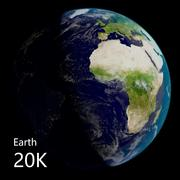 Erde - Fotoreal (20k) 3d model