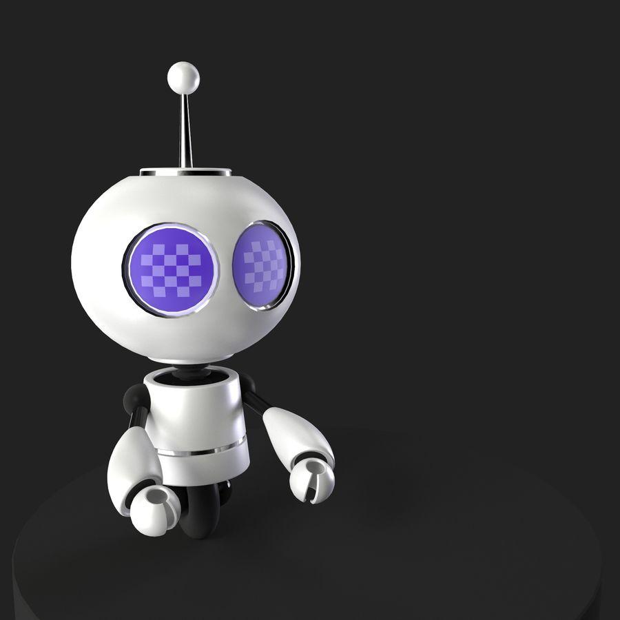 MicroBOT royalty-free 3d model - Preview no. 1