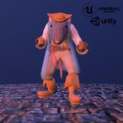 Capitan Rat 3d model