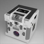 딱딱한 표면 상자 3d model