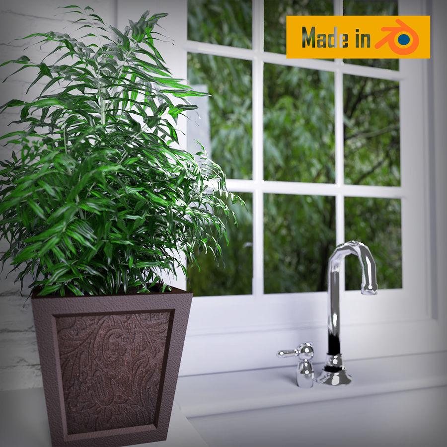 Dekorative Pflanze royalty-free 3d model - Preview no. 1