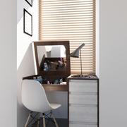 Meble łazienkowe do sypialni 3d model