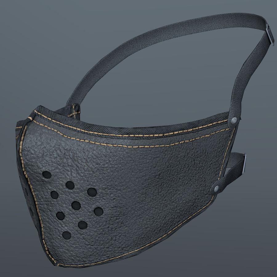 Kask motocyklowy i maska royalty-free 3d model - Preview no. 20