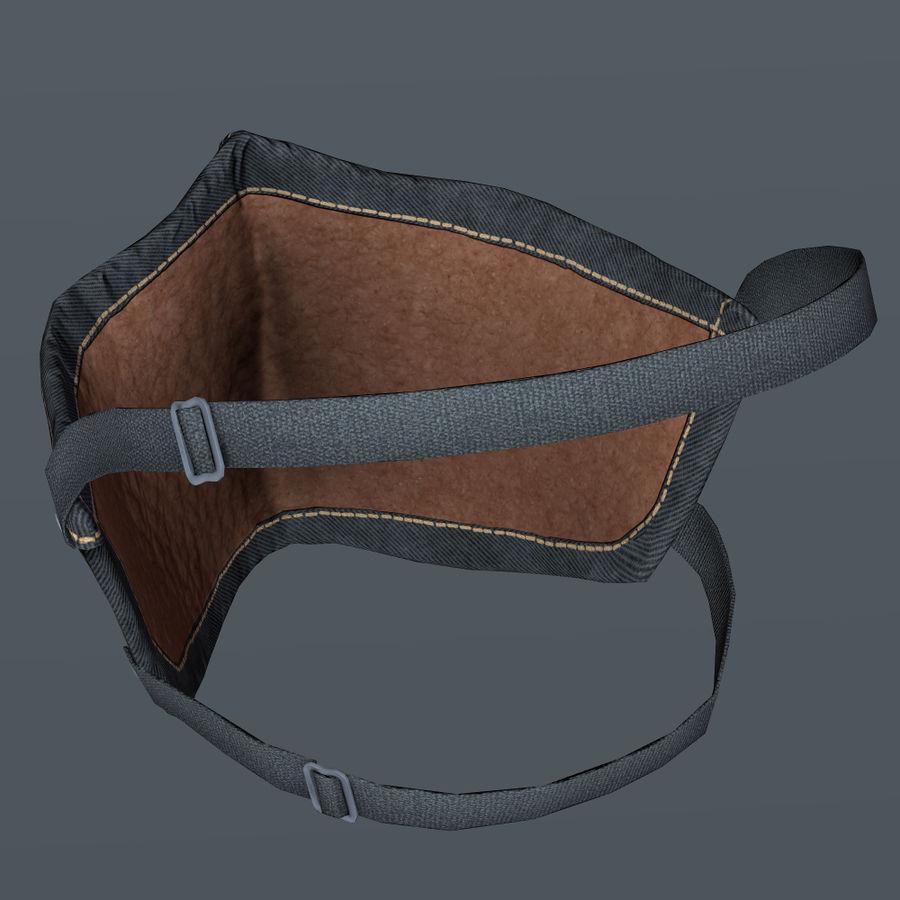 Kask motocyklowy i maska royalty-free 3d model - Preview no. 17