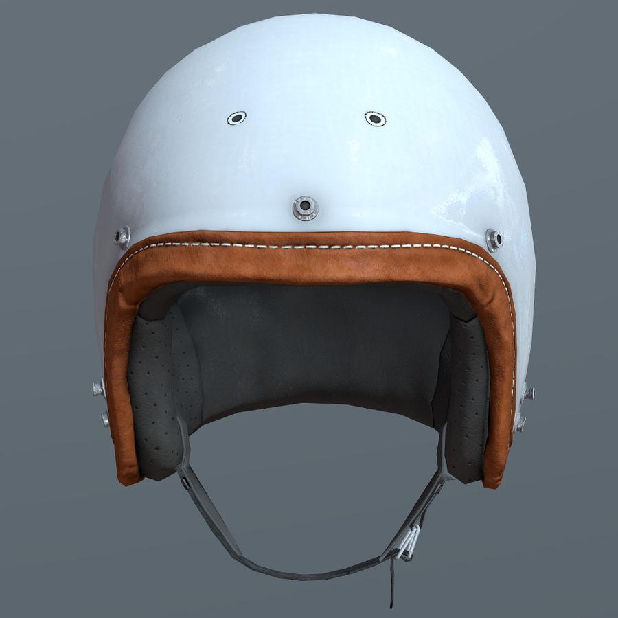 Kask motocyklowy i maska royalty-free 3d model - Preview no. 6