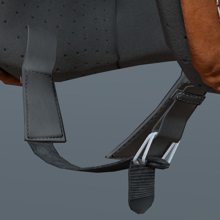 Kask motocyklowy i maska royalty-free 3d model - Preview no. 8