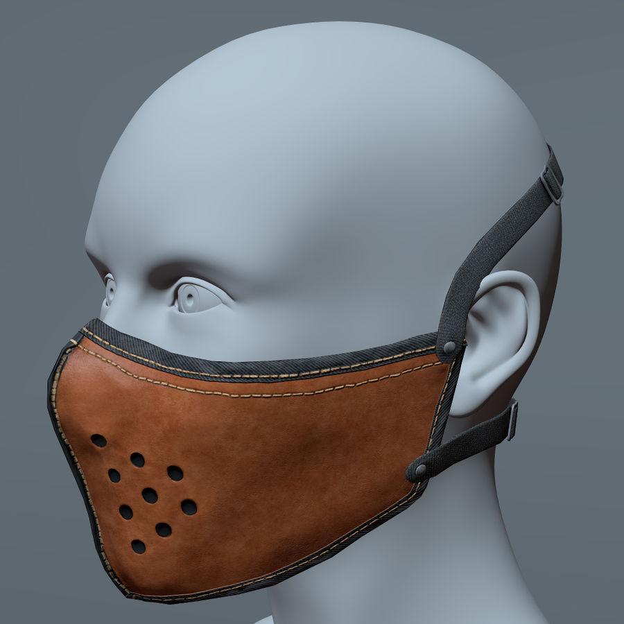 Kask motocyklowy i maska royalty-free 3d model - Preview no. 18