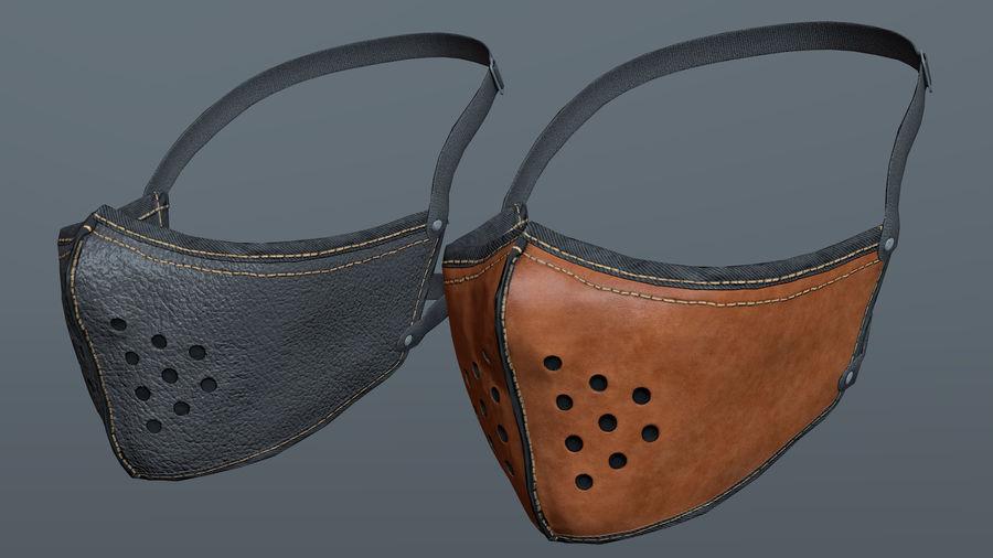 Kask motocyklowy i maska royalty-free 3d model - Preview no. 13