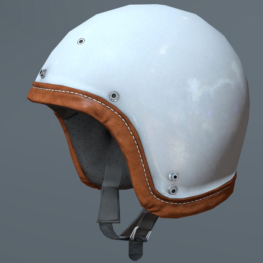 Kask motocyklowy i maska royalty-free 3d model - Preview no. 10