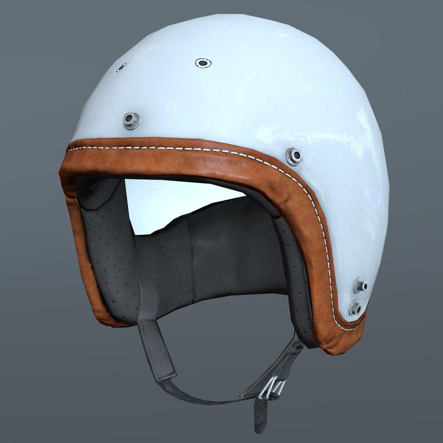 Kask motocyklowy i maska royalty-free 3d model - Preview no. 7