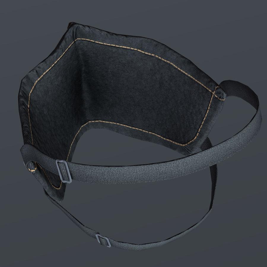 Kask motocyklowy i maska royalty-free 3d model - Preview no. 22