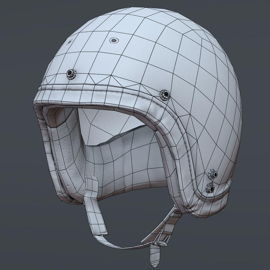 Kask motocyklowy i maska royalty-free 3d model - Preview no. 12