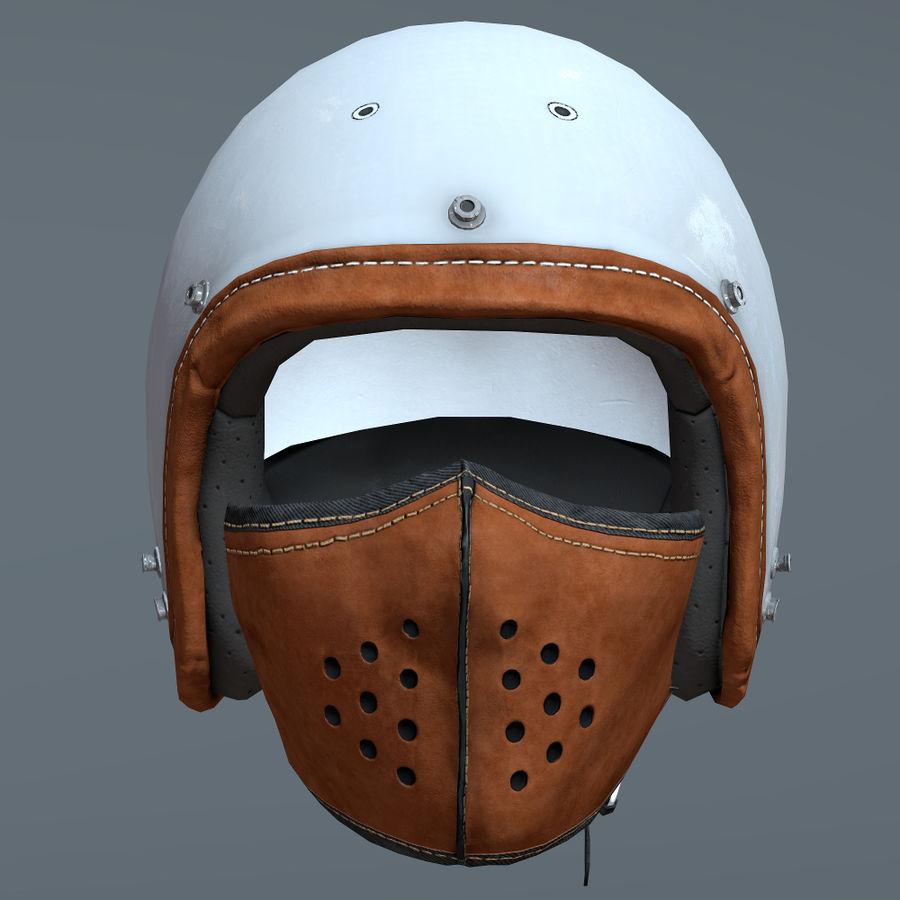 Kask motocyklowy i maska royalty-free 3d model - Preview no. 3