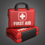 First Aid 01 (HPL) - PBR Game Ready 3d model