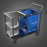 Chariot de fournitures pour hôpitaux (HPL) - PBR Game Ready 3d model