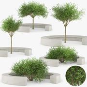 COMU BY VORA ARQUITECTURA Tree Bench 3d model