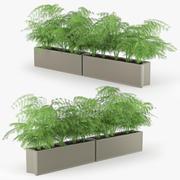 Parterre de terre cuite 3d model