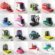 Transport-spel 3d model