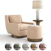 Muebles Baker - Sillón Verve modelo 3d