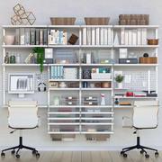 Decor for office 4 3d model