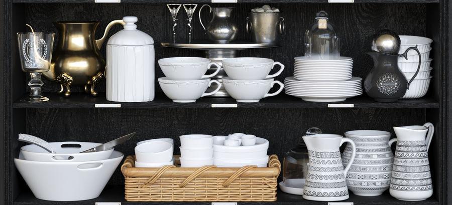 Kleinigheden voor de keuken 3 royalty-free 3d model - Preview no. 5