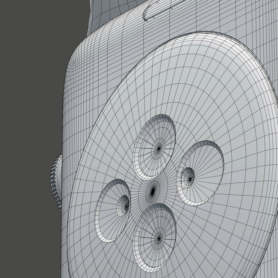 Apple Watch royalty-free 3d model - Preview no. 11