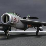 obj 및 fbx 용 MiG-17 Fresco F 3d model