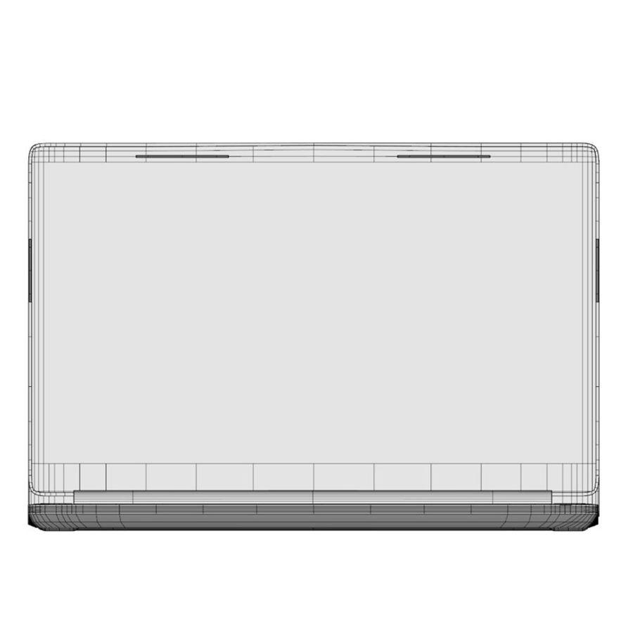 INSPIRON LAPTOP royalty-free 3d model - Preview no. 2