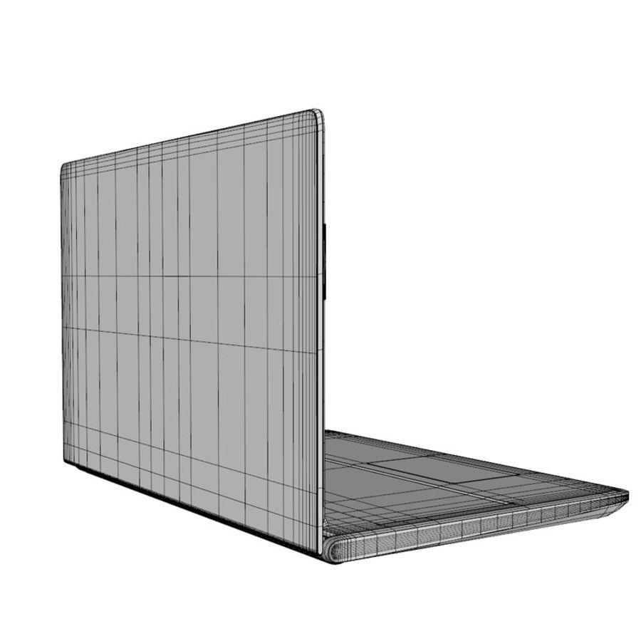 INSPIRON LAPTOP royalty-free 3d model - Preview no. 5