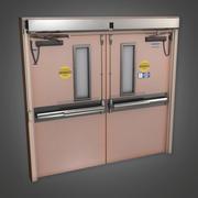 Дверь больницы (HPL) - PBR Game Ready 3d model