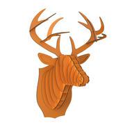 Głowa jelenia Bucky Cardboard 3d model
