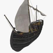 Notorious ship 3d model