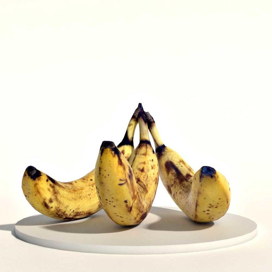 Bananas royalty-free 3d model - Preview no. 1
