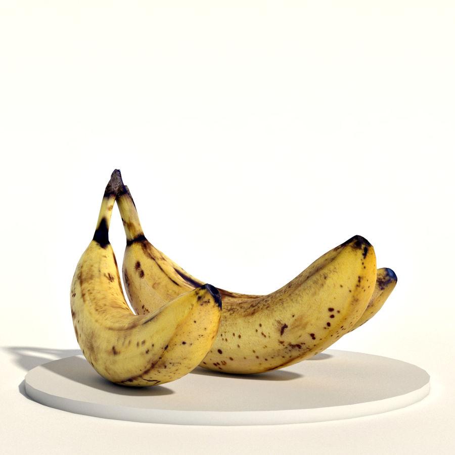 Bananas royalty-free 3d model - Preview no. 5