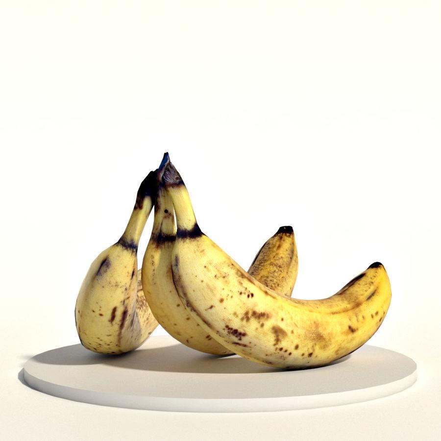 Bananas royalty-free 3d model - Preview no. 3