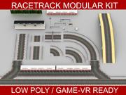 Race Track modulaire bouwset 3d model