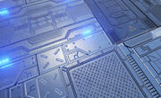 Piętro Sci-Fi 3d model