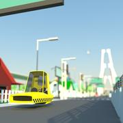 Transport + SIty 3d model