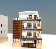 elevazione esterna 3d model