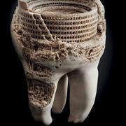 tänder konst 3d model